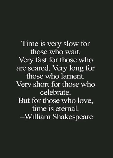 time is eternal
