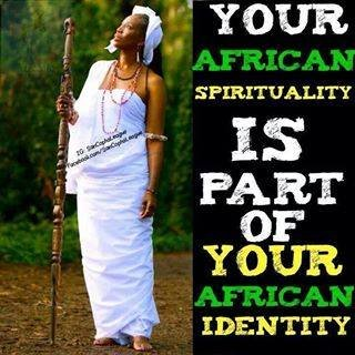ur spirituality is part of ur identity