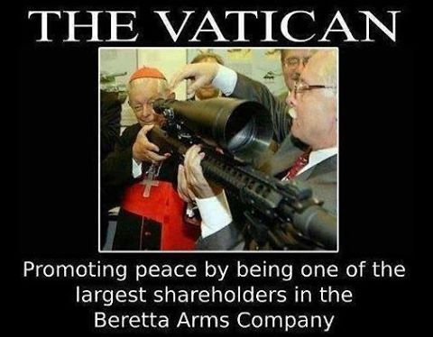 vatican is the largest shareholder in beretta