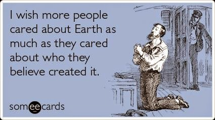 wish more ppl care abt the earth