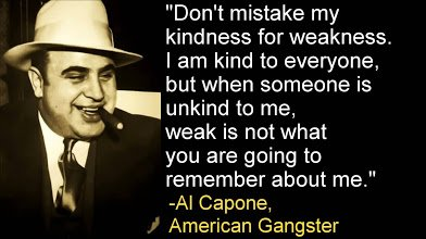 al capone on kindness