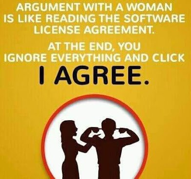 argument with a woman