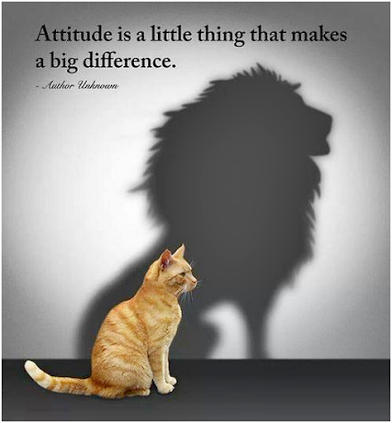 attitude makes all the difference