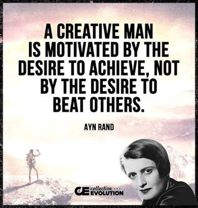 ayn rand on creative people
