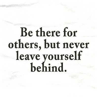 be there for others