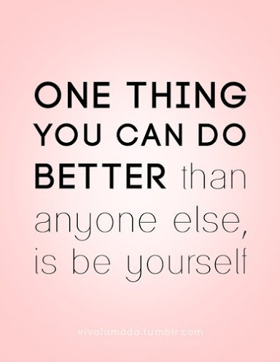 be yourself2