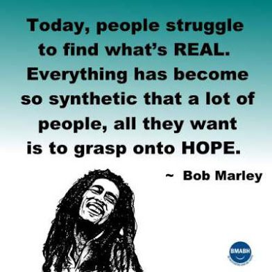 bob marley on hope