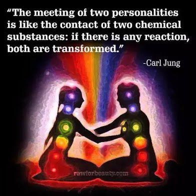 carl jung on meeting of personalities