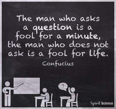 confucius on a fool