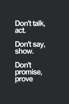 dont promise prove
