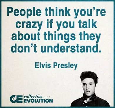 elvis presley on craziness
