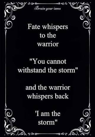 fate and warrior