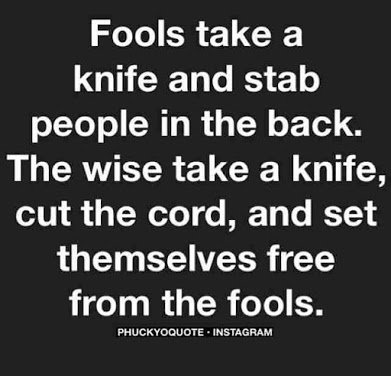 fool versus wise