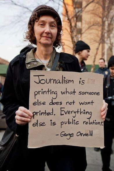george orwell on journalism