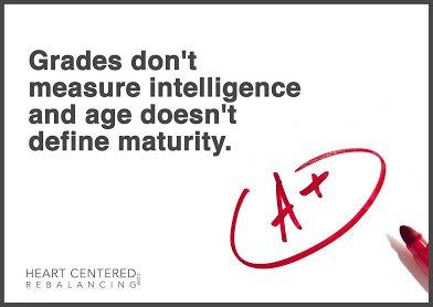 grade doesnt measure intelligence