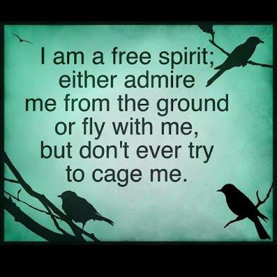 i am a free spirit