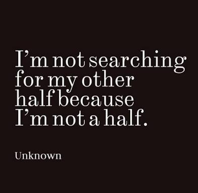 i am not half