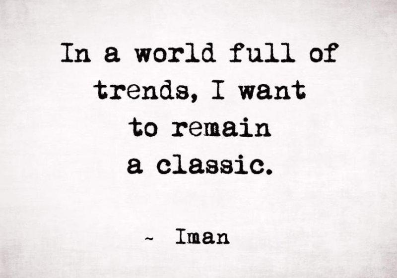 i want to rmain a classic
