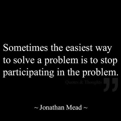 jonathan mean on how to solve a problem