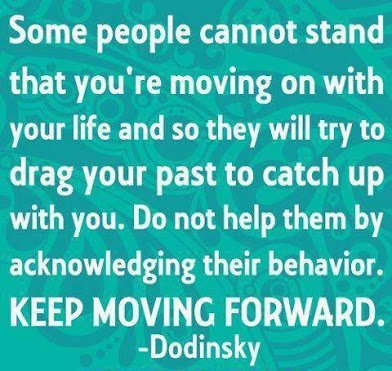 keep on moving forward