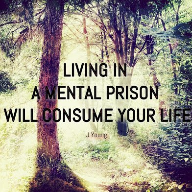 living in a mental prison