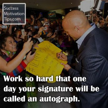 make your signature an autograph