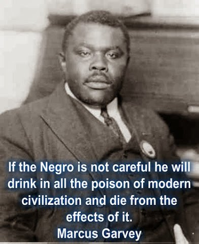 marcus garvey on black and civilisation