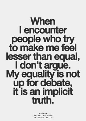 my equality