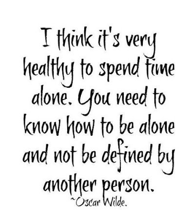oscar wilde on being alone