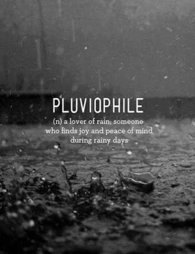 pluovile lover of rain