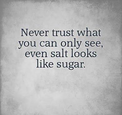salt looks like sugar