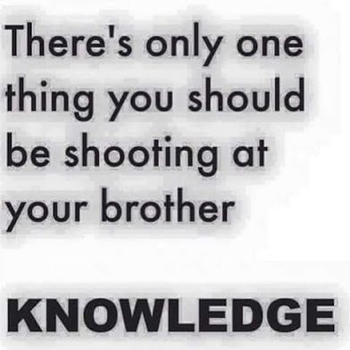 shoot only knowledge