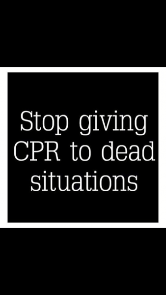 stop giving cps to dead situation