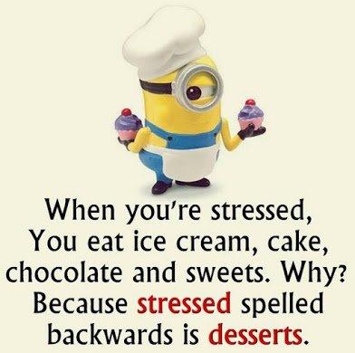 stressed n dessert