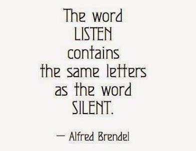 the word LISTEN