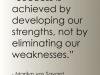 developing strength
