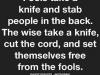 fool versus wise