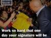 make your signature an autograph