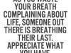 no complain