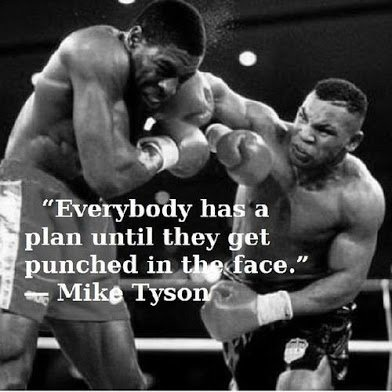 tyson on punch in the face