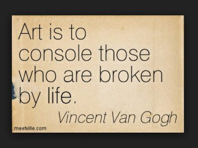 van goh on the meaning of art