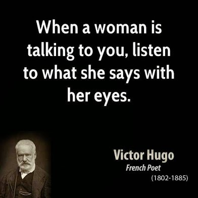victor hugo on women