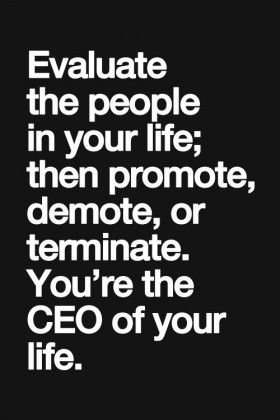 you are the ceo of your life
