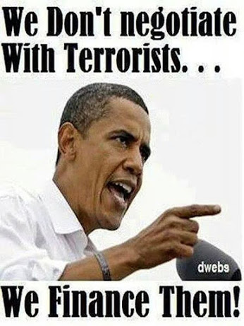 obama we dont negotiate wt terrorist