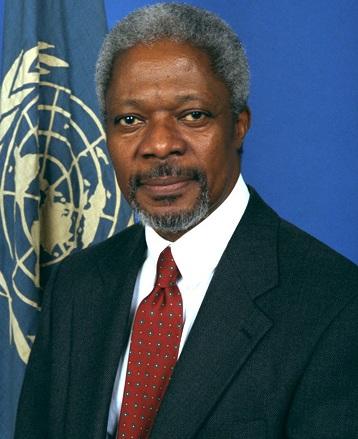 Not so fast, Mr. Annan,