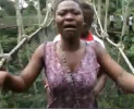 Woman Crying at Kakum