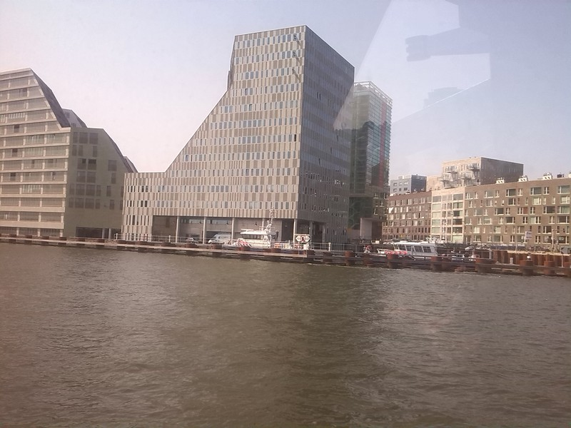 on the ijmeer near amsterdam central station
