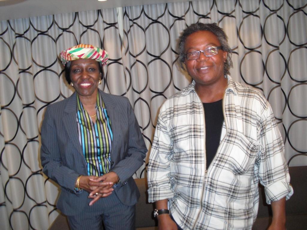 Femi with Nana konadu