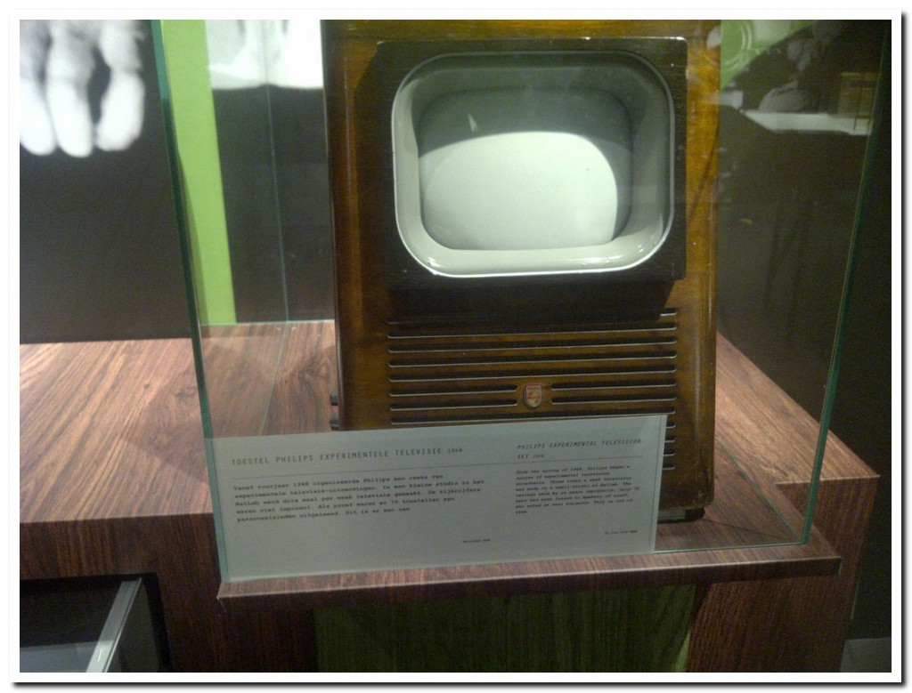 1st Philips Television