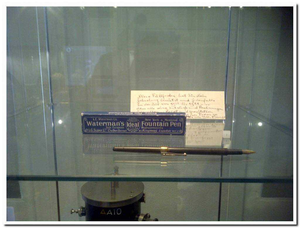 Albert Einstein's Pen